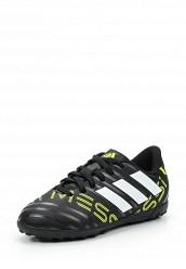 Купить Шиповки NEMEZIZ MESSI 17.4 TF J adidas Performance черный AD094ABUNJ97