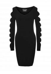 Купить Платье Boutique Moschino черный BO036EWOVM39 Италия