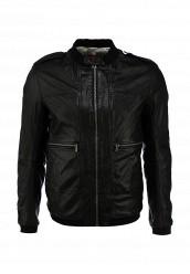 Купить Куртка кожаная Boss Orange черный BO456EMFJE61