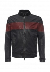 Купить Куртка кожаная Boss Orange черный BO456EMNOM99