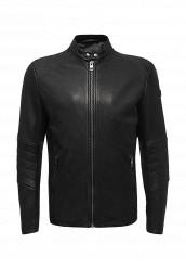 Купить Куртка кожаная Boss Orange черный BO456EMTQE47