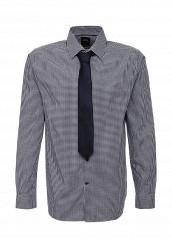 Купить Рубашка Burton Menswear London синий BU014EMJXN34