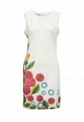 Купить Платье Desigual белый DE002EWOQR20