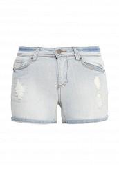Купить Шорты джинсовые Finn Flare голубой FI001EWQBY28 Китай