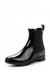 Купить Резиновые полусапоги Ideal черный ID005AWFXW00