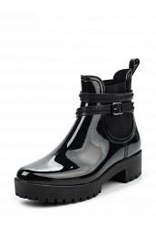 Купить Резиновые полусапоги Ideal черный ID005AWPVB92