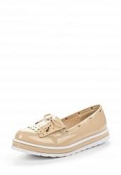 Купить Лоферы Ideal Shoes бежевый ID005AWSBE69 Китай