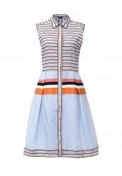 Купить Платье Jil Sander Navy голубой JI005EWHGB04