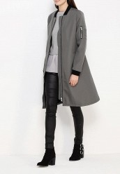 Плащ LOST INKBELTED BOMBER COAT