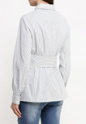 Рубашка LOST INKOBI BELT SHIRT IN STRIPE