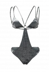 Купальник LOST INKVELVET MULTI STRAP SWIMSUIT WITH CUT OUT