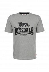 Купить Футболка Lonsdale серый LO789EMARB45 Индонезия
