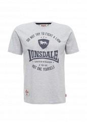 Купить Футболка Lonsdale серый LO789EMUIC45