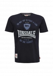 Купить Футболка Lonsdale синий LO789EMUIC46