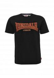 Купить Футболка Lonsdale черный LO789EMUIC47