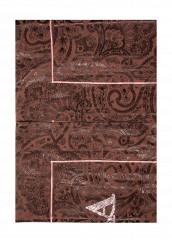 Купить Комплект постельного белья Евро Asabella коричневый MP002XU00176