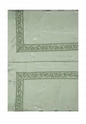 Купить Комплект постельного белья Евро Asabella зеленый MP002XU0017P