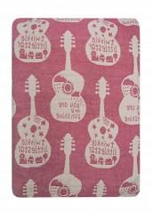 """Купить Покрывало 200x230 """"Гитара"""" Arloni розовый MP002XU00YEC"""