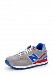 Купить Кроссовки ML574 New Balance серый NE007AMATU26