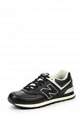 Купить Кроссовки New Balance ML574 черный NE007AMJKW61 Вьетнам