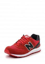 Купить Кроссовки ML574 New Balance красный NE007AMPED10