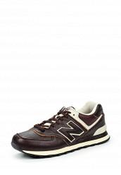 Купить Кроссовки ML574 New Balance коричневый NE007AUJKW59
