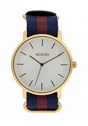 Купить Часы PORTER NYLON Nixon синий NI001DUOZA44