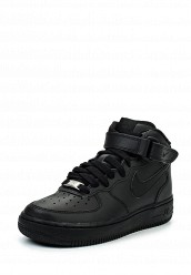 Купить Кроссовки AIR FORCE 1 MID (GS) Nike черный NI464ABFOT53