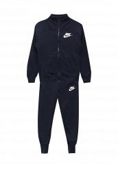 Купить Костюм спортивный G NSW TRK SUIT FT Nike синий NI464EGUFG16
