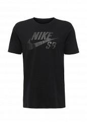 Купить Футболка SB LOGO TEE Nike черный NI464EMJFU32