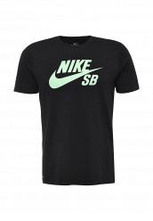 Купить Футболка SB LOGO TEE Nike черный NI464EMRYS55 Иордания