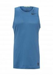 Купить Майка спортивная M NP HPRCL TANK FTTD Nike синий NI464EMRYT06