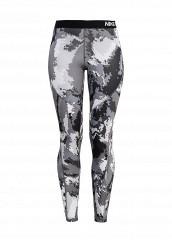 Купить Тайтсы W NP HPRWM TGHT OIL GLITCH Nike серый NI464EWJGC07