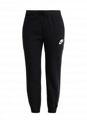 Купить Брюки спортивные Nike W NSW AV15 PANT FLC черный NI464EWPKS08 Малайзия