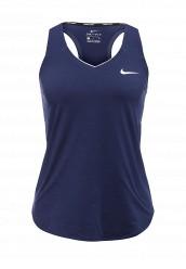 Купить Майка спортивная W NKCT TANK PURE Nike синий NI464EWRZC52