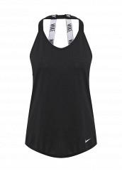 Купить Майка спортивная Nike W NK BRTHE TANK ELASTIKA черный NI464EWRZF18 Таиланд