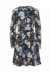 Купить Платье oodji синий OO001EWQWT03 Китай