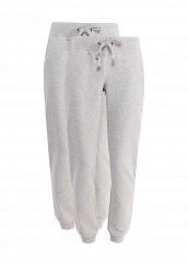 Купить Комплект брюк 2 шт. oodji серый OO001EWRPJ89 Узбекистан