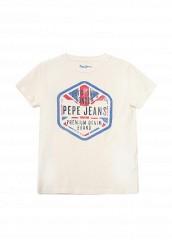 Купить Футболка Pepe Jeans белый PE299EBPYS58
