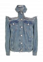 Купить Куртка джинсовая Topshop голубой TO029EWSCO87