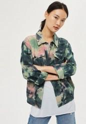 Купить Куртка Topshop зеленый TO029EWUBW79