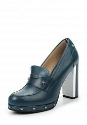 Купить Туфли Tommy Hilfiger синий TO263AWTPO46