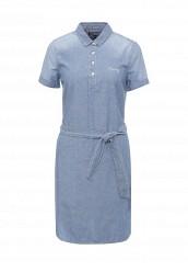 Купить Платье джинсовое Tommy Hilfiger голубой TO263EWOLD89