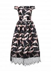 Купить Платье Tutto Bene черный TU009EWKQE43 Россия