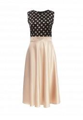 Купить Платье Tutto Bene бежевый TU009EWRDD63