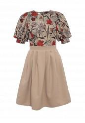 Купить Платье Tutto Bene бежевый TU009EWSID58