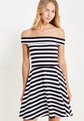 Купить Платье ТВОЕ черно-белый TV001EWVFU03