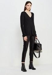 Купить Пуловер Twin-Set Simona Barbieri черный TW005EWUME88