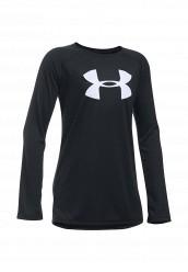 Купить Лонгслив спортивный UA Big Logo LS T Under Armour черный UN001EGOJL21