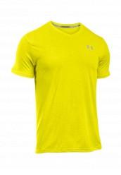 Купить Футболка спортивная Under Armour Threadborne Streaker V Neck желтый UN001EMOJF12 Иордания